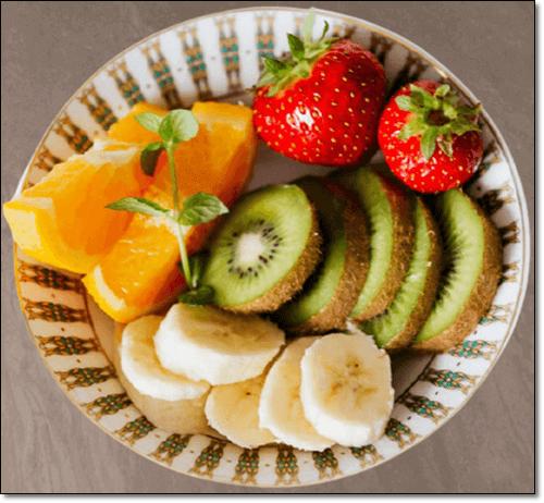 키위 딸기 바나나