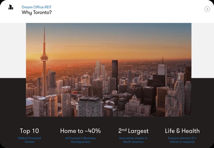 드림오피스리츠-투자자프리젠테이션-토론토부동산집중