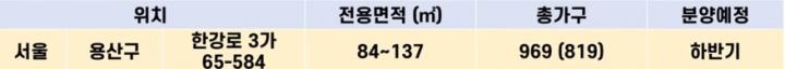 용산아세아아파트-분양정보