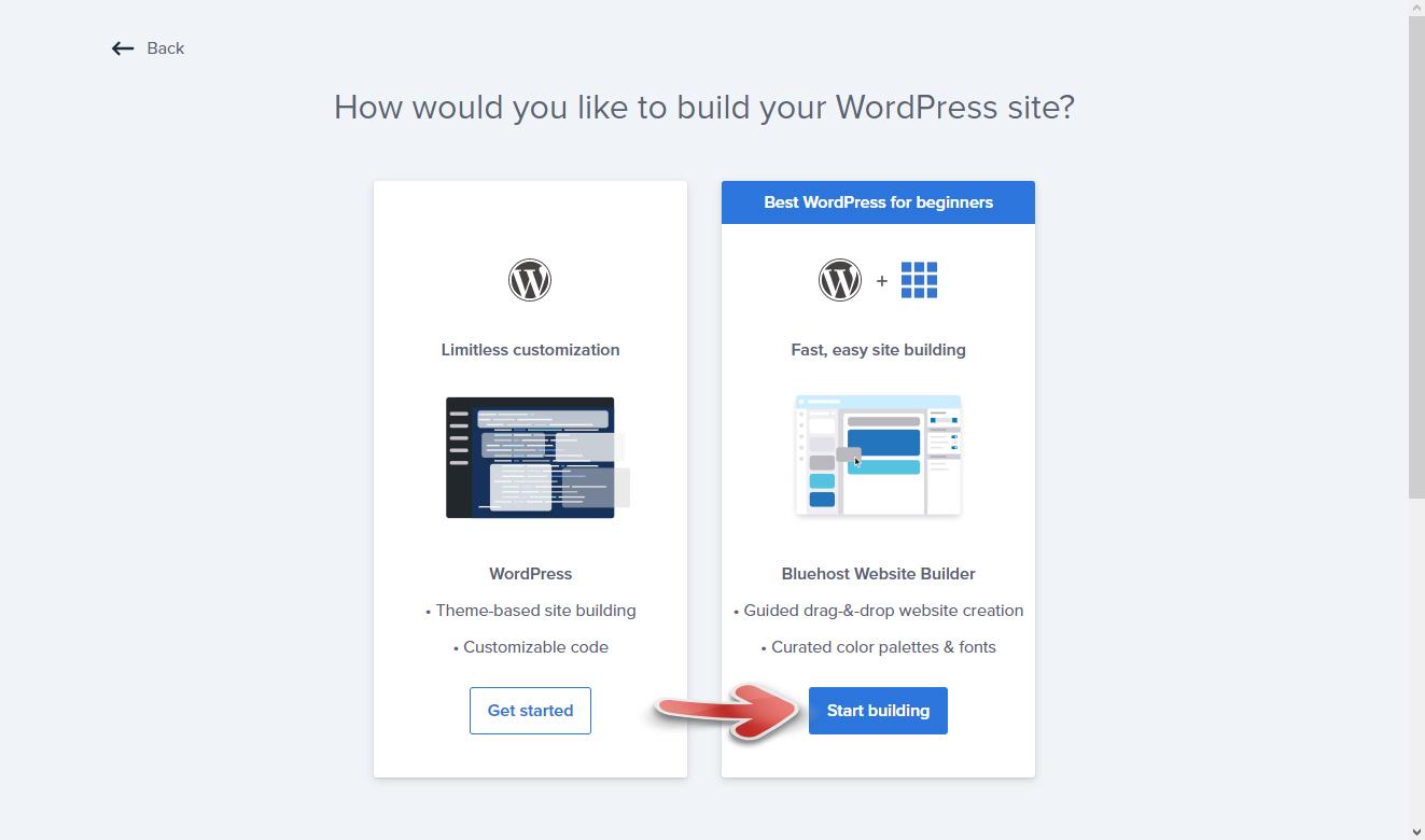 해외 웹호스팅 블루호스트에 워드프레스 설치하기