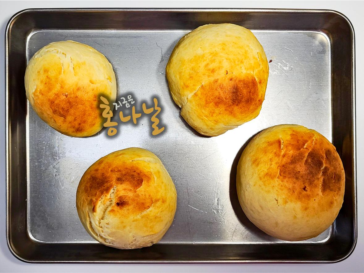 [모닝빵] 빵 굽기 완료