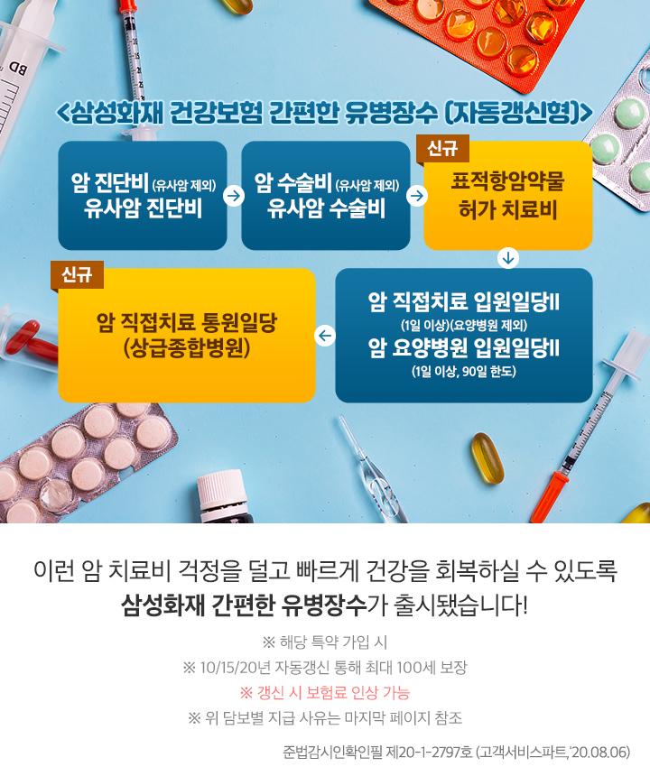 유병력자,암,표적항암치료,상급병원,통원치료