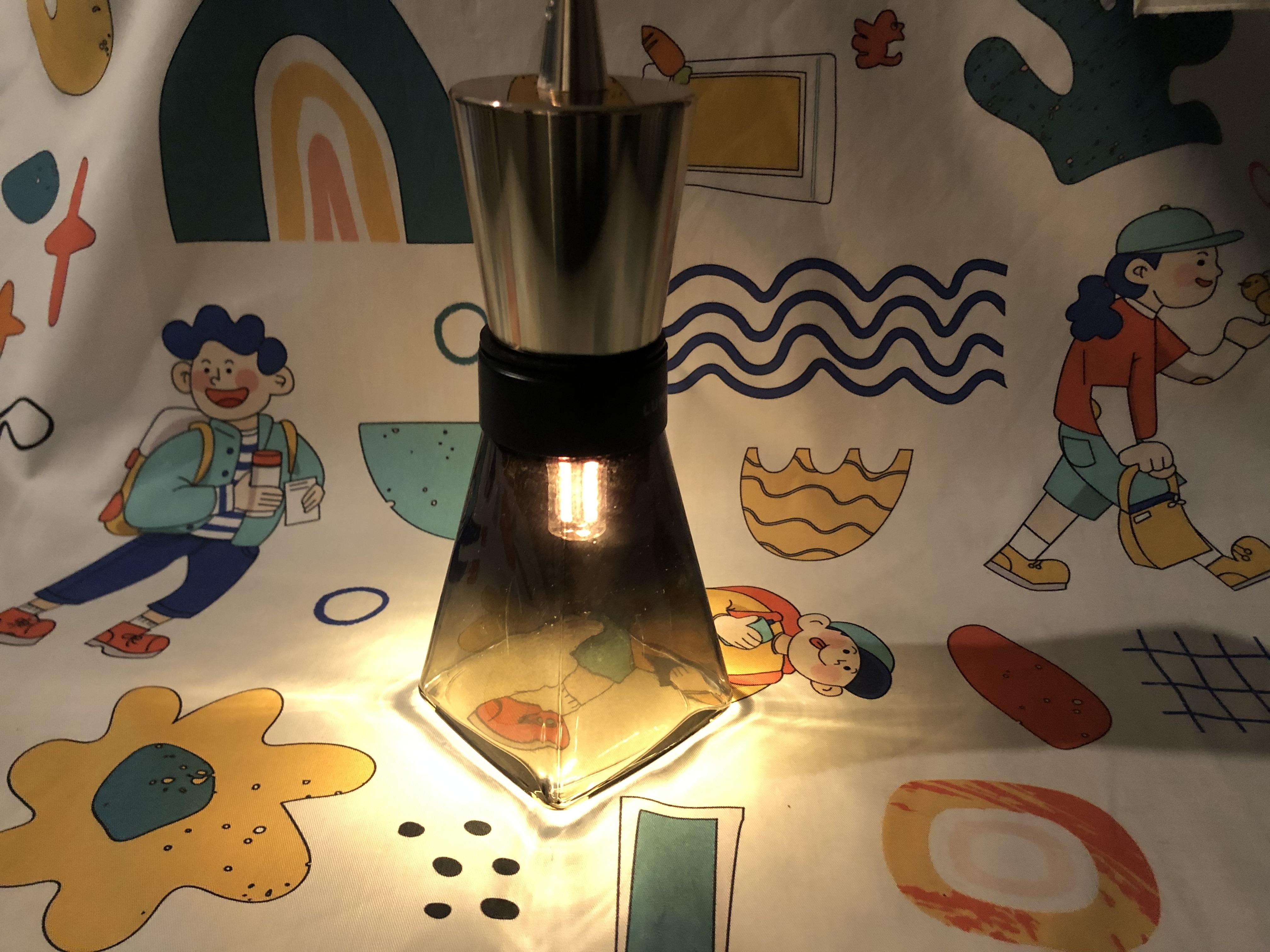 식용유로 켜는 LED 램프를 아세요?