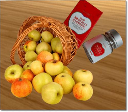 사과초모식초 알약