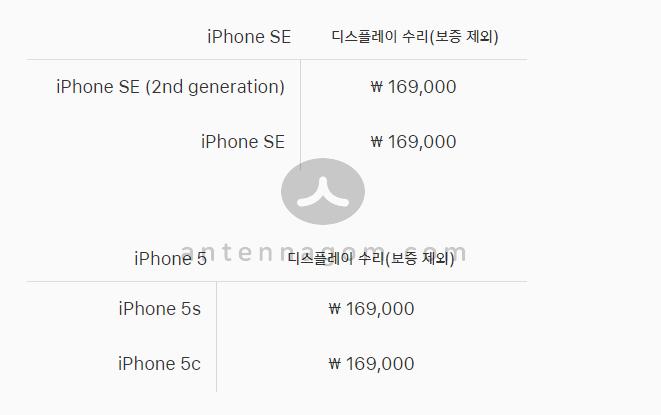 아이폰 액정수리 리퍼비용 4