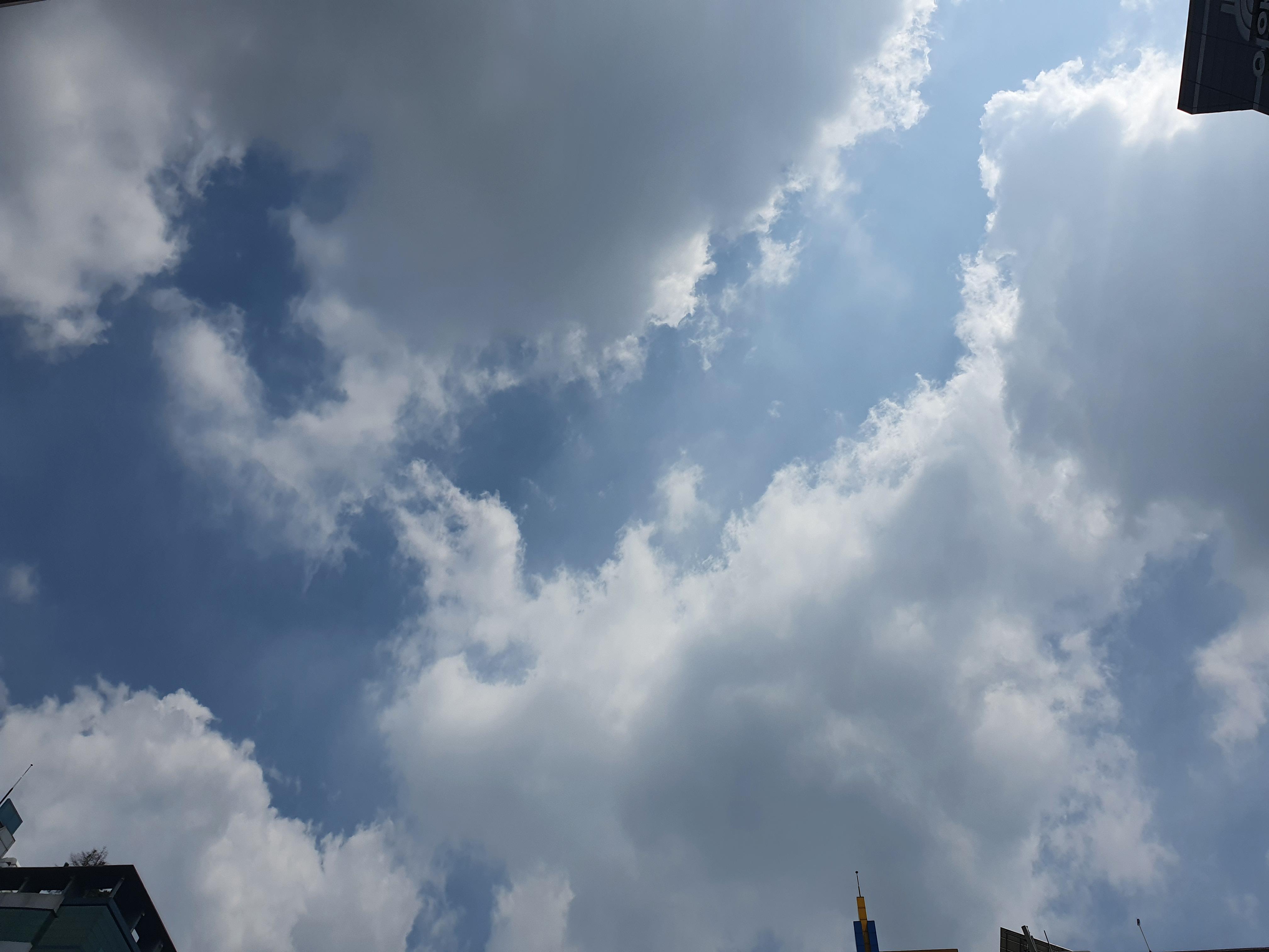 여름 하늘, 날씨 참 좋다