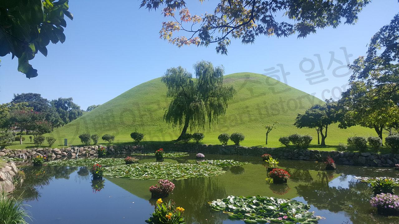 대릉원연못