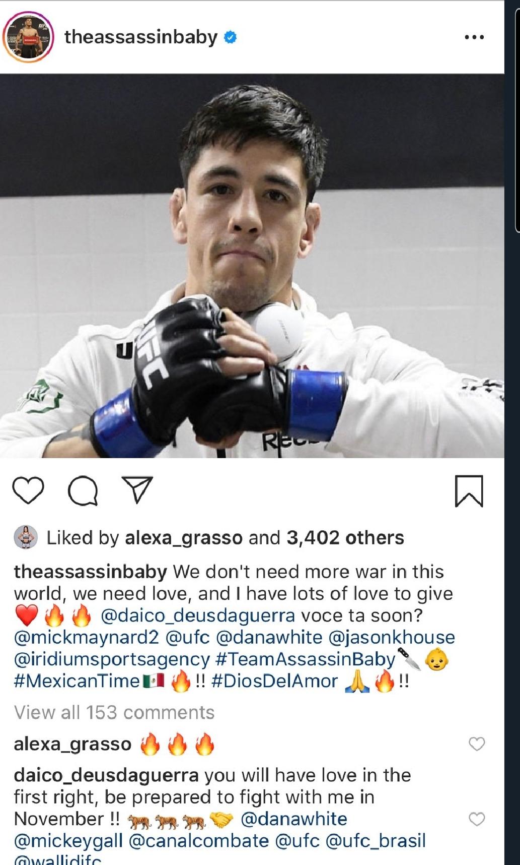 [UFC 매치업 뉴스] 코너 맥그리거와의 시합을 거절한 저스틴 게이치  브랜드 모레노의 시합 요청에 화답한 데이비슨 피게이레도