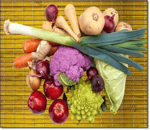 과일과 채소에 많은 루틴