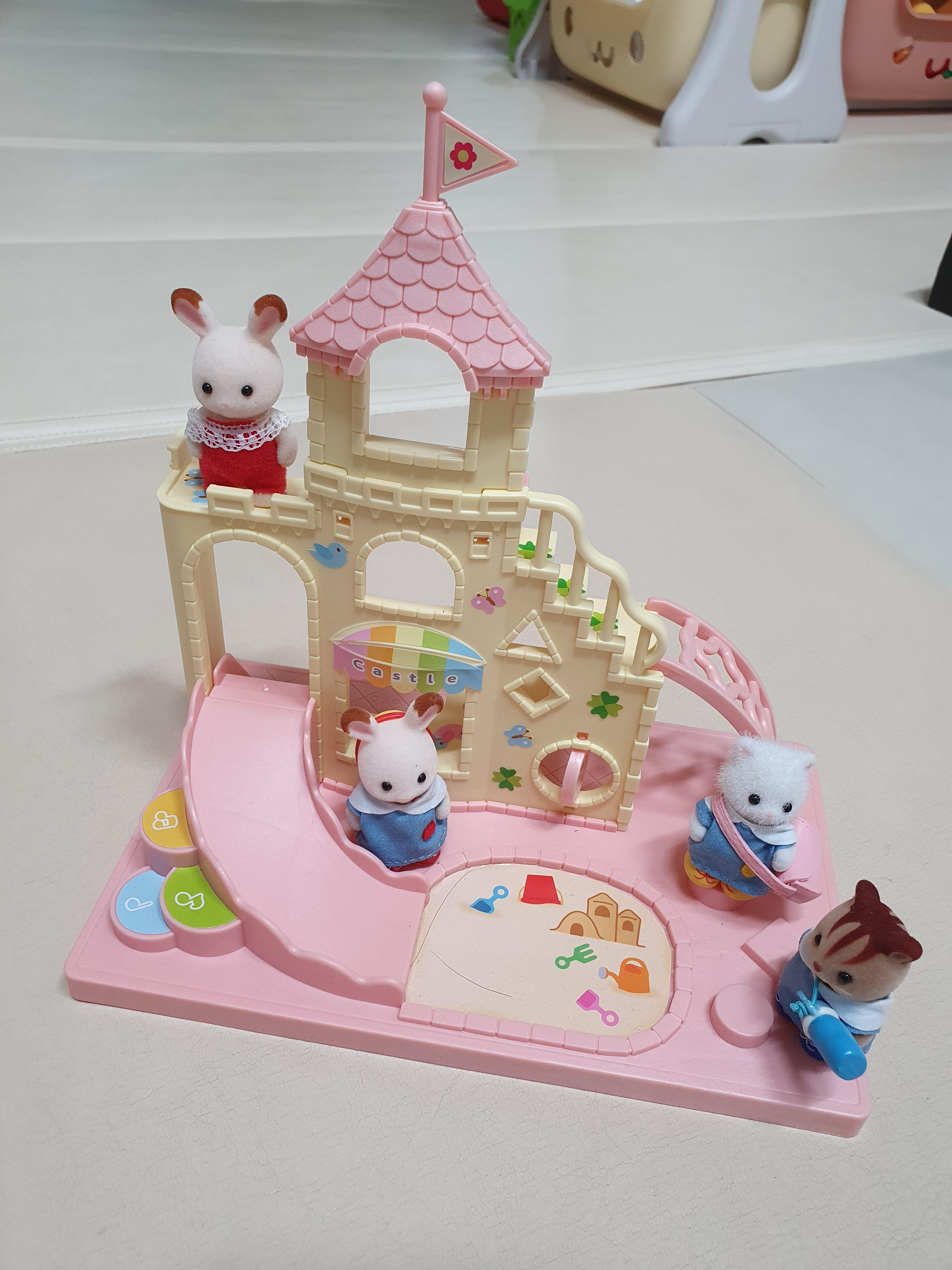 (어린이날 선물) 실바니안 패밀리, 유치원 캐슬 유치원과 유치원 프렌즈