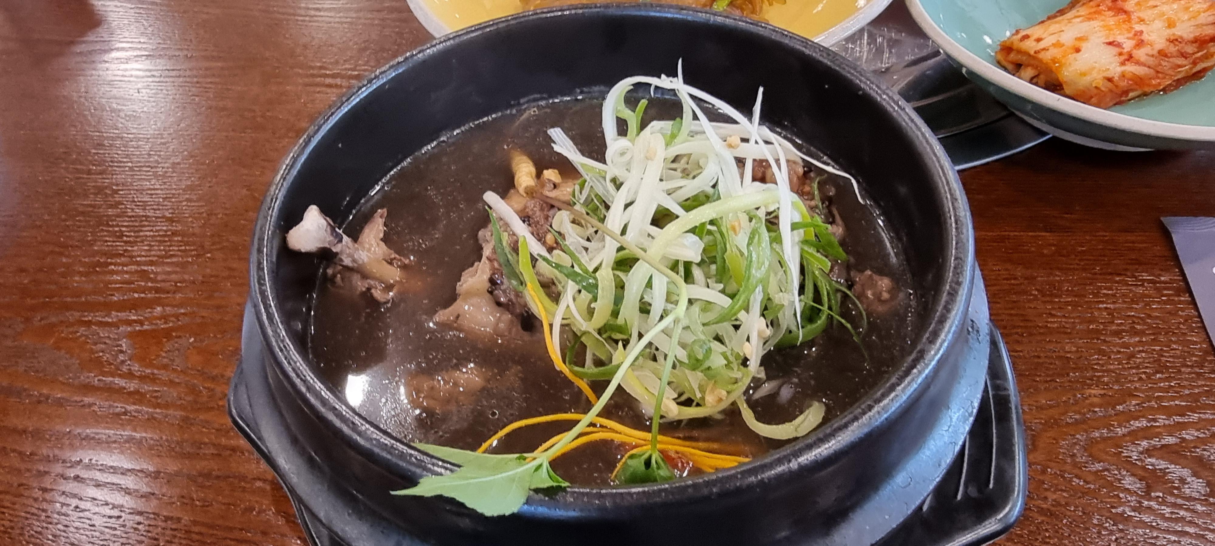 소래포구 건강밥상 심마니 능이버섯 삼계탕