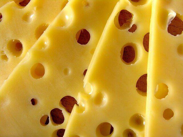 칼슘이 풍부한 식품 치즈