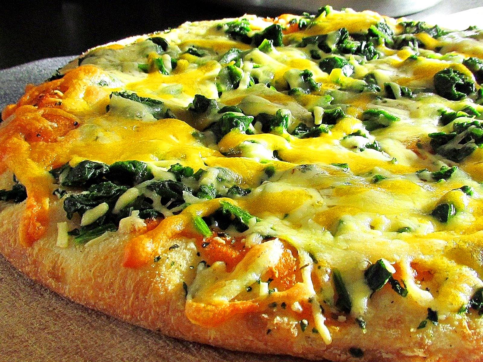 시금치 피자