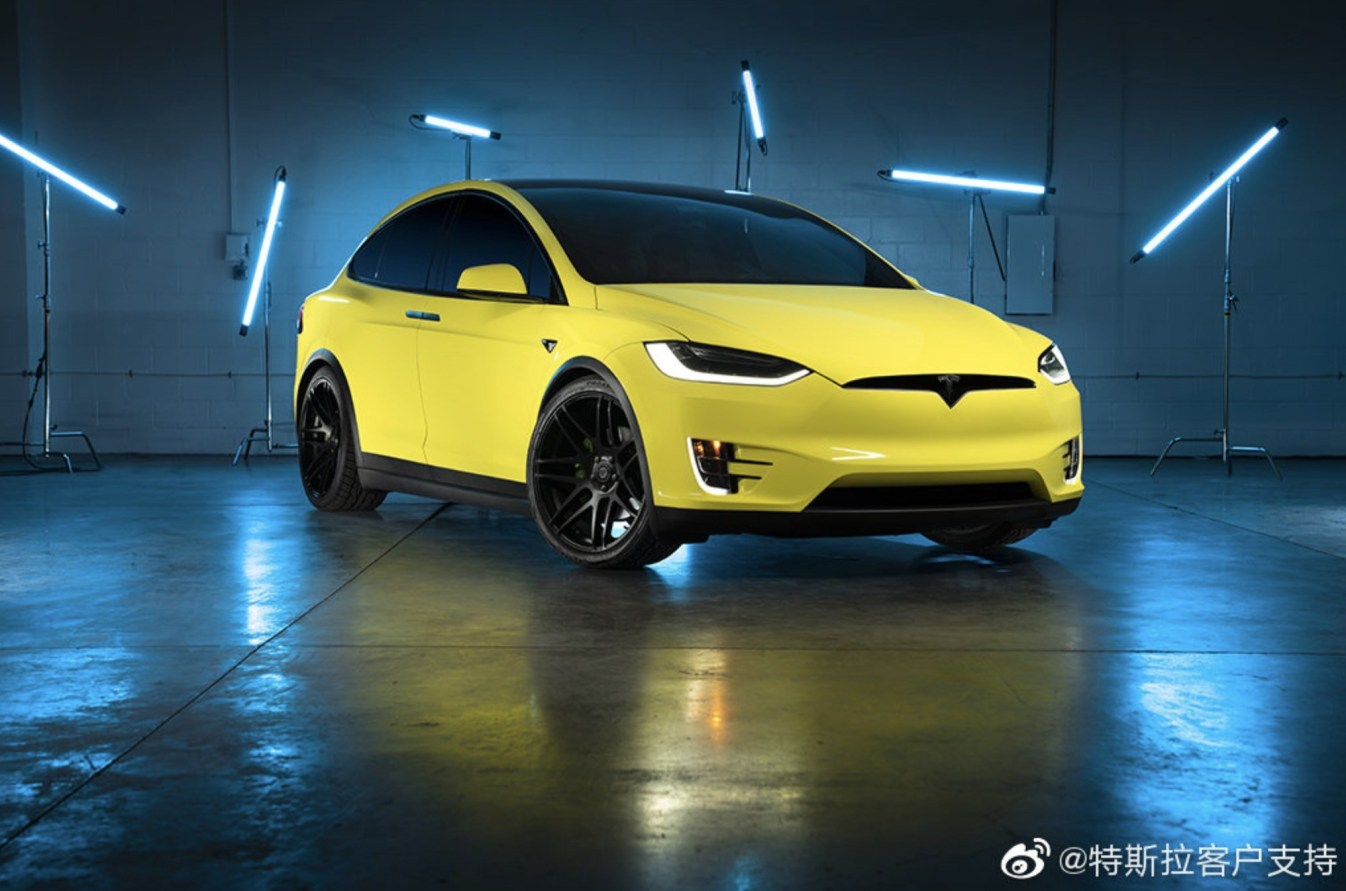 중국, 테슬라 정식 차량 랩핑 서비스 런칭!