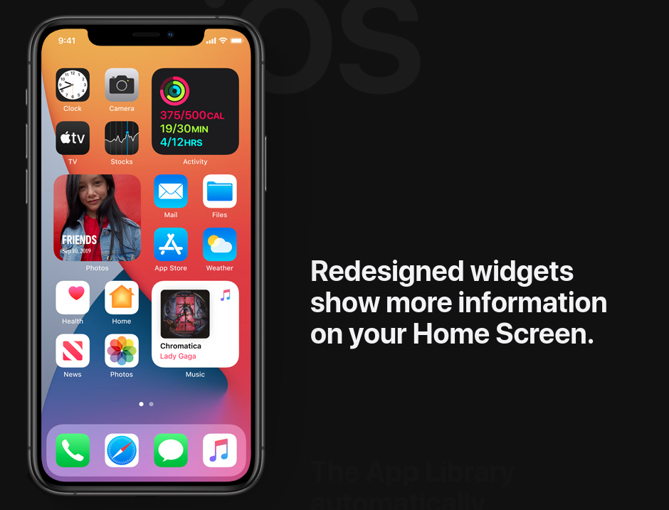 애플 iOS14 의 개로운 기능들