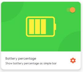 Navbar Apps 배터리 표시 기능