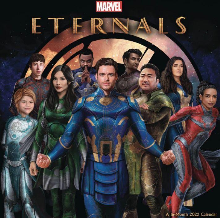 이터널스 포스터