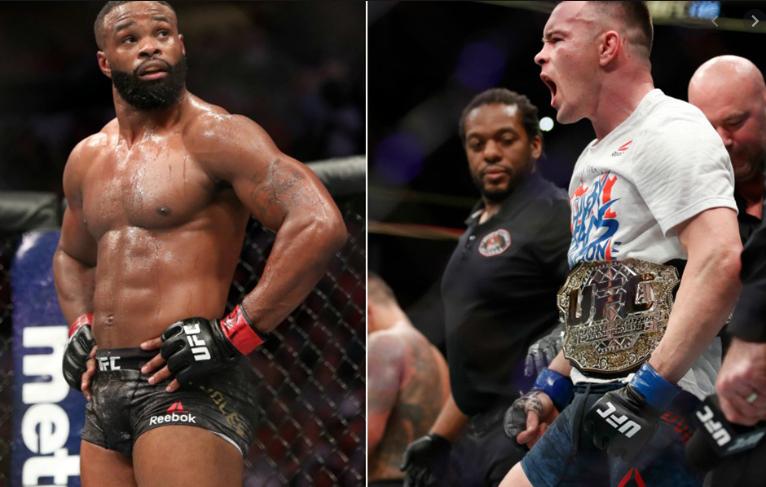 [UFC 매치업 뉴스] 데이나 화이트 : 콜비 코빙턴 VS 타이론 우들리를 추진중이다.