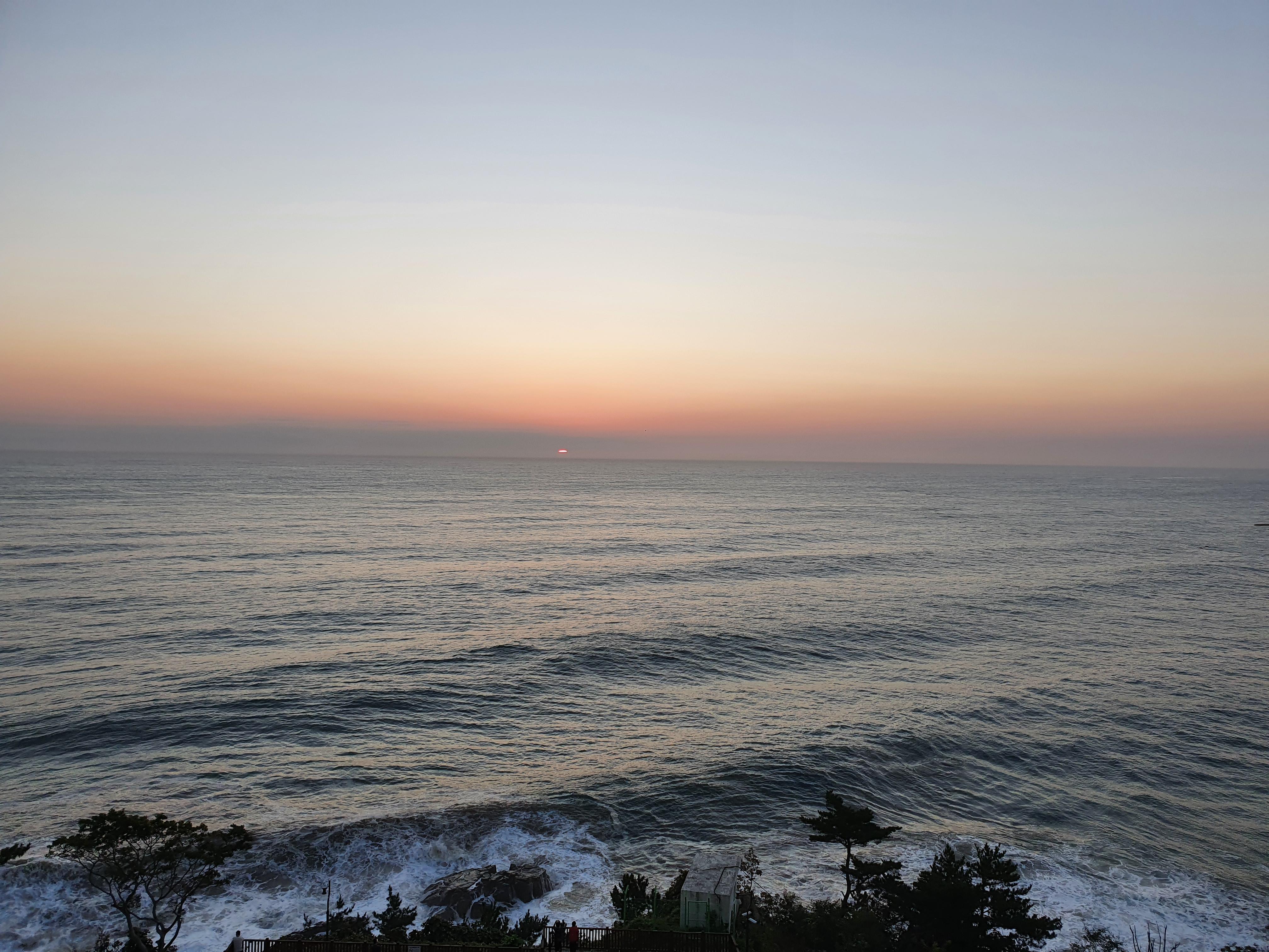 동해나들이(5) : 해돋이 (6시 7분 ~ 6시 51분)