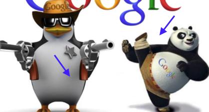 구글의 펭귄,판다 업데이트