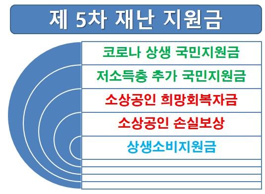 5차 재난지원금 종류