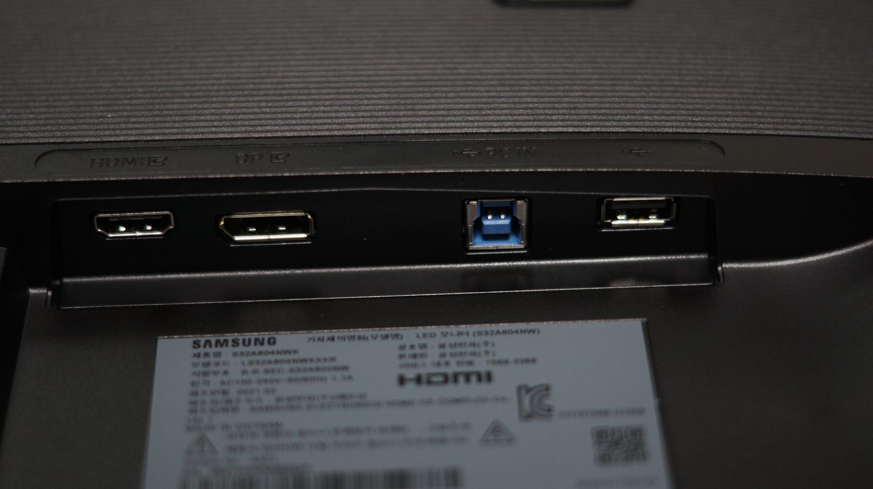 삼성 32인치모니터 QHD모니터 S32A604N 리뷰 사진 7
