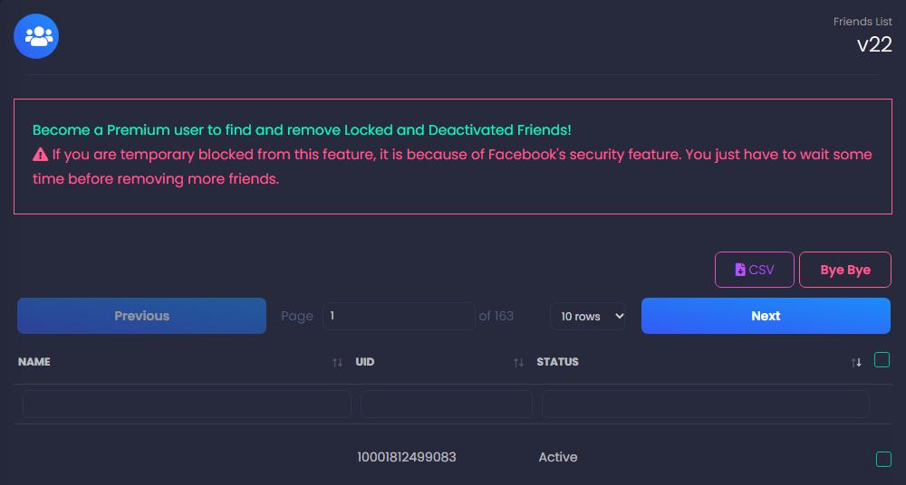 페이스북 친구 한 번에 끊는 방법