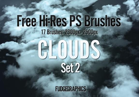 Hi-Res Clouds Brush