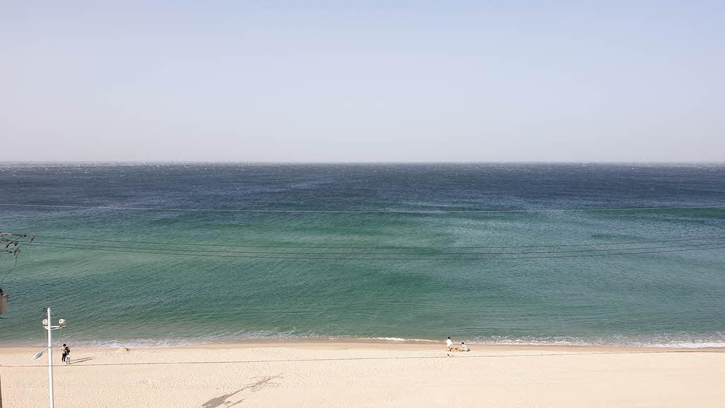 사천진 해변