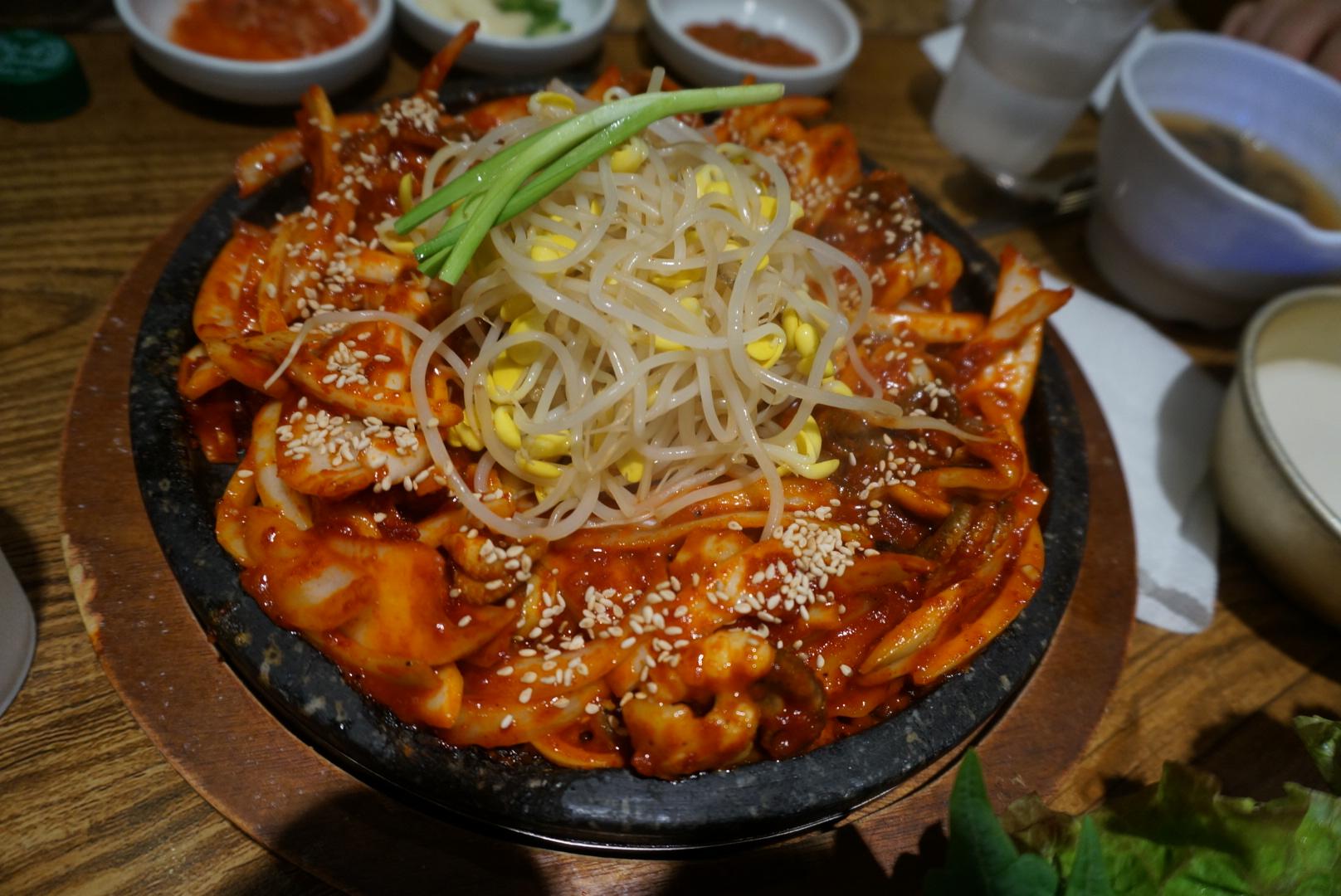 조원동 맛집 시골밥상 & 감자옹심이