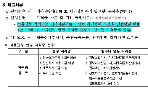 한국도로공사 채용 공고