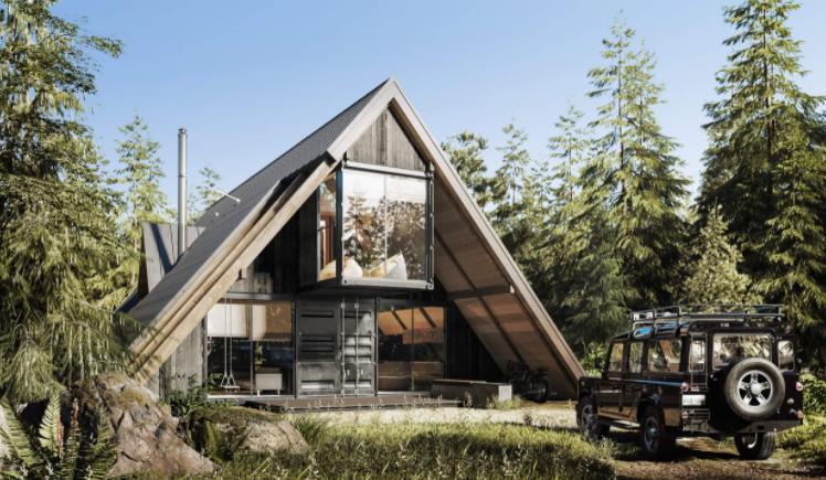 A 프레임 (A-frame) 하우스
