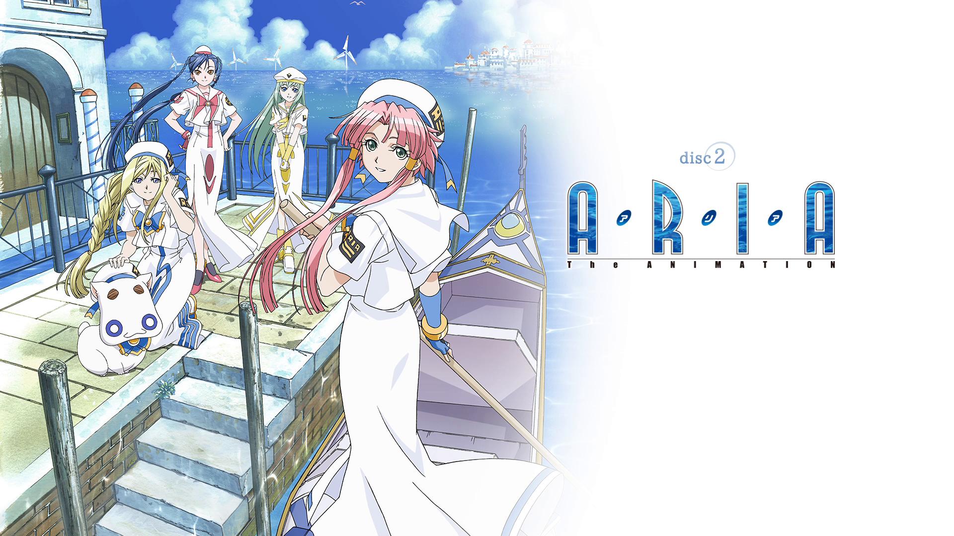 [ReinForce] Aria the Avvenire - OVA 1 - 3 (BDRip 1920x1080 x264 FLAC)