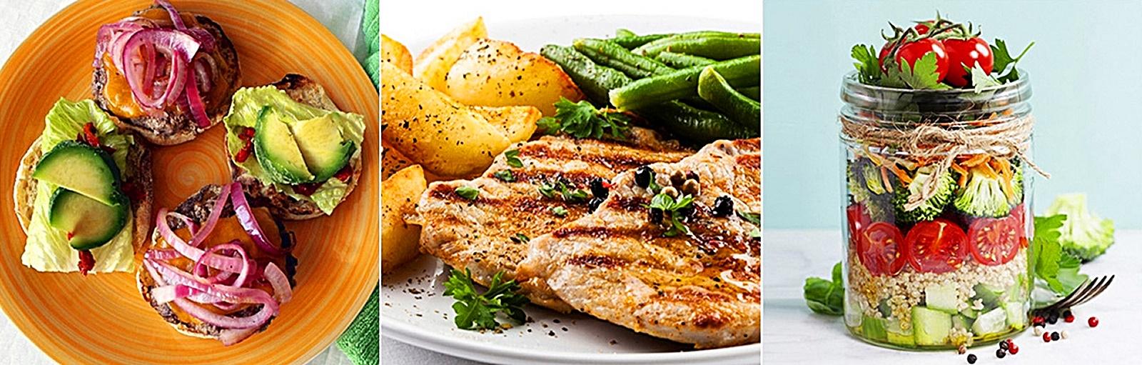 두부 닭가슴살 스테이크 요리 3가지