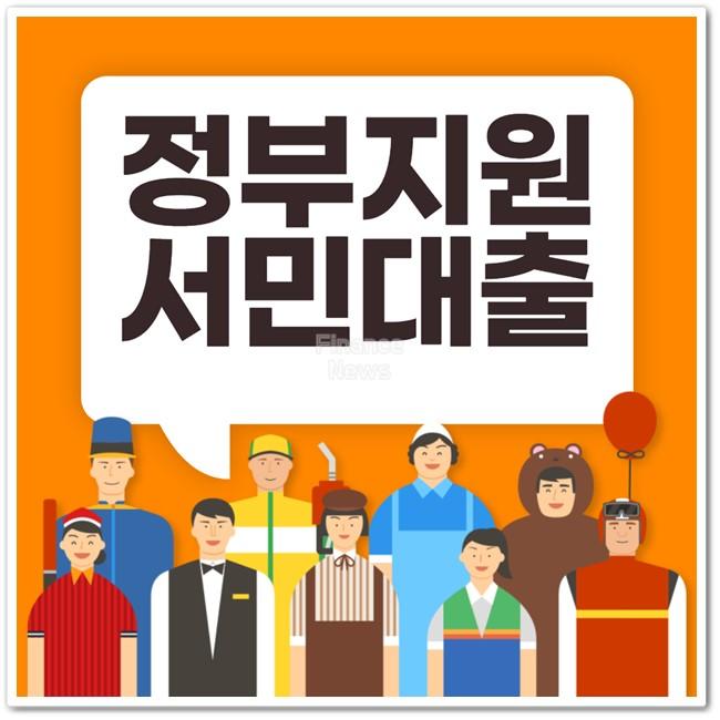 정부지원 서민대출