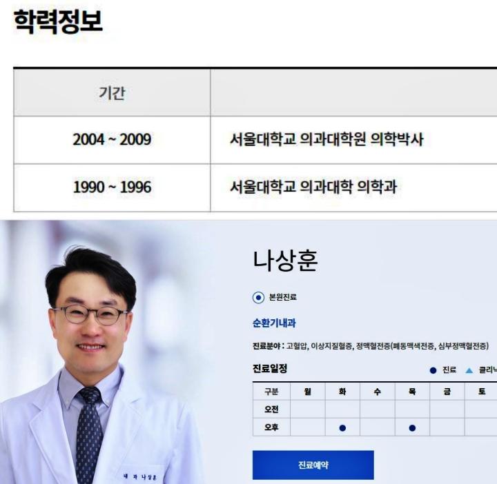 혈전증-권위자-나상훈박사