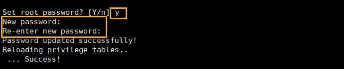 mariadb 관리자 계정 비밀번호 설정