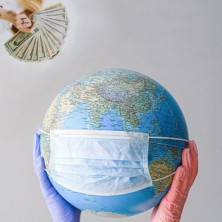 코로나-위기-지구-돈