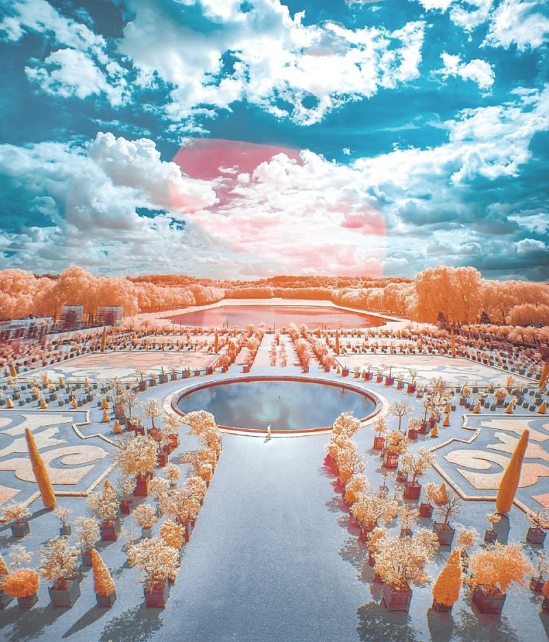 프랑스 베르사이유 : 얼마전 개장한 베르사유 궁전