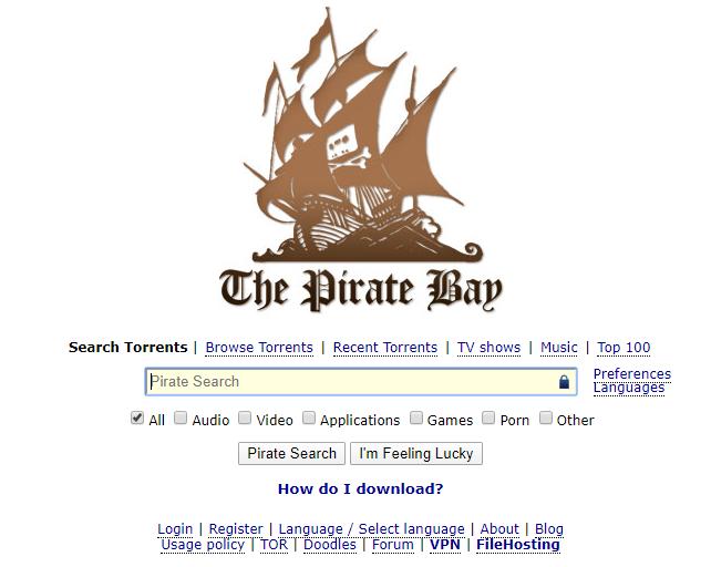 복귀한 해적선 사이트