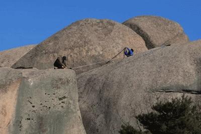 큰 바위가 있는곳