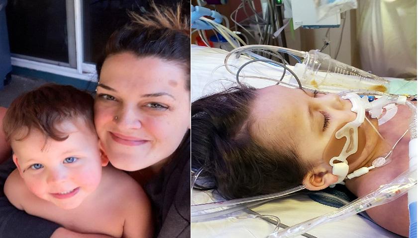 미국 4세 아이 '압정 삼켜' 뇌사판정 받고 사망
