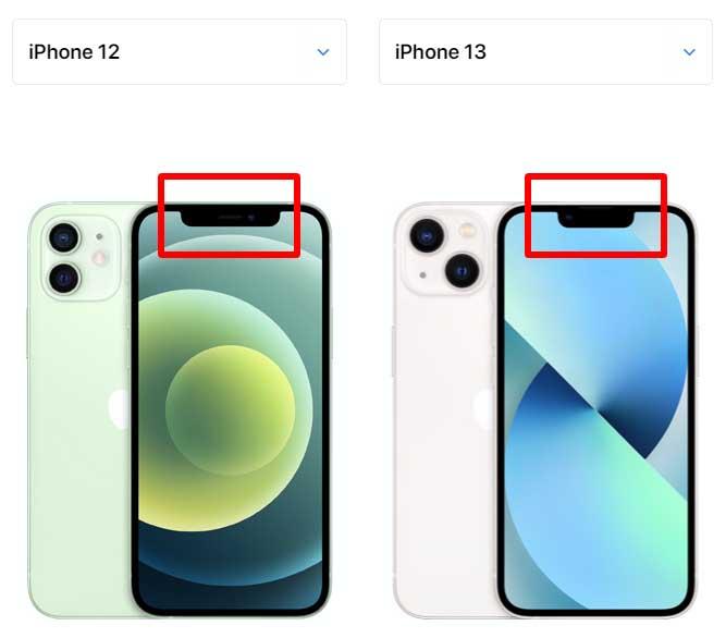 아이폰 13 노치