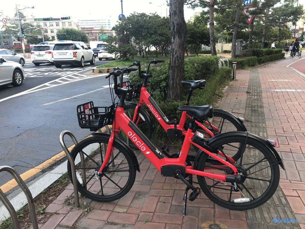[BP/BC] 공유 전기 자전거 - 일렉클