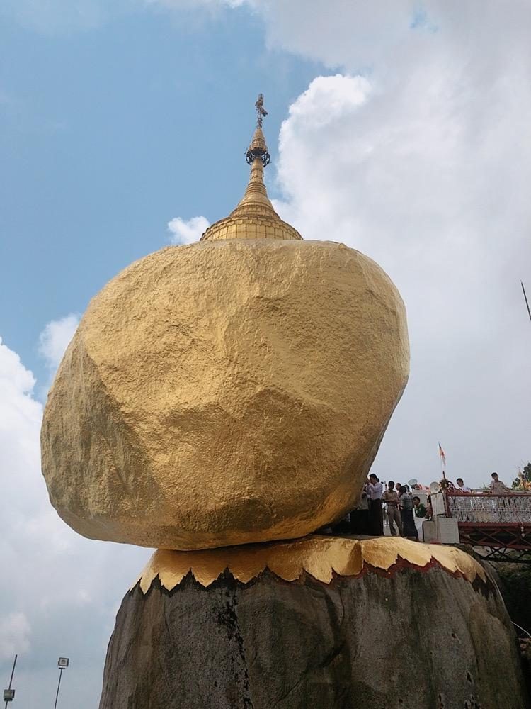 [미얀마] 골든 락 짜익티요 파고다 투어 Golden Rock Kyaiktiyo Pagoda (전쟁 묘지 Taukkyan War Cemetery, 타나카 Thanaka)