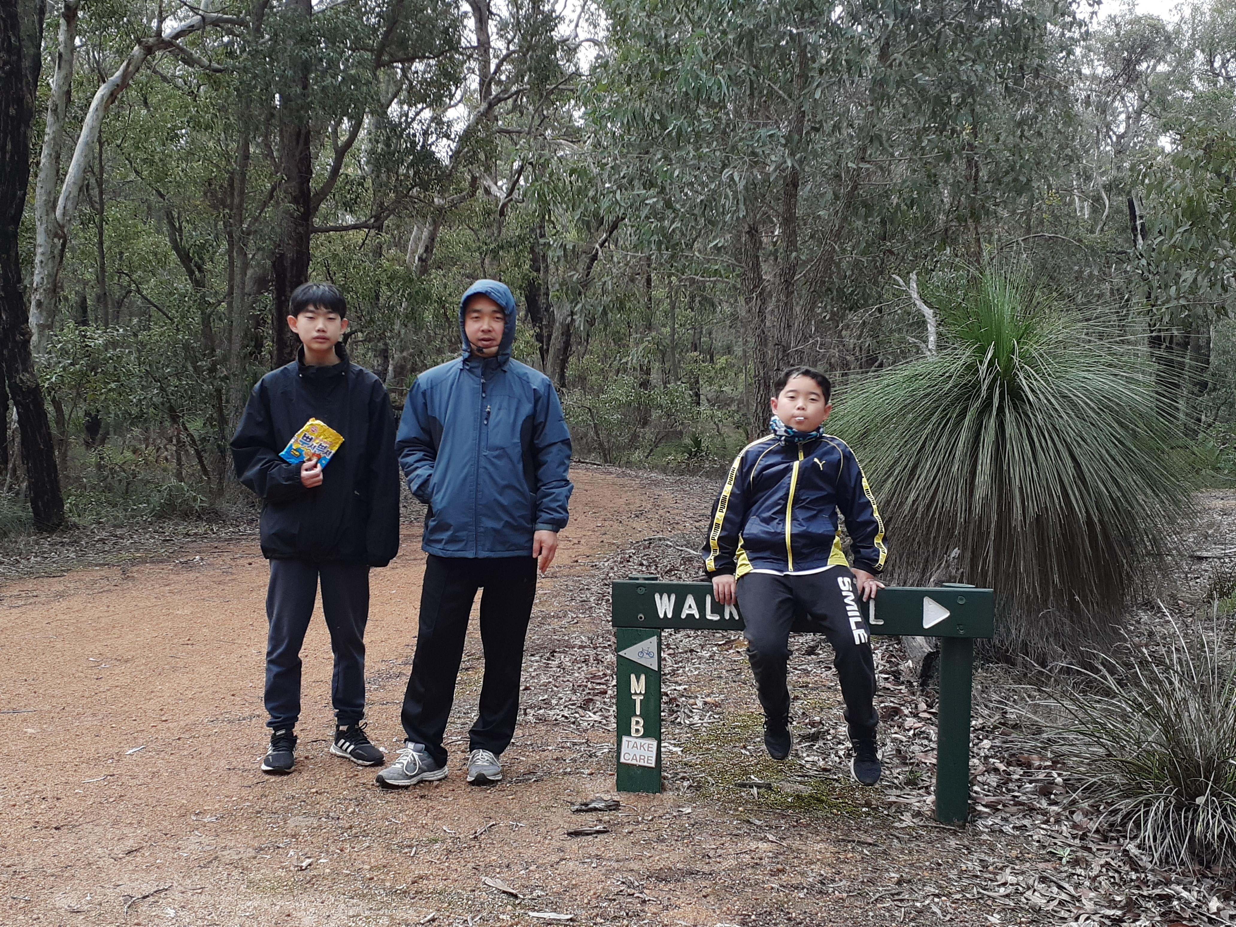 202007 Lake Leschenaultia Camping 산책하기