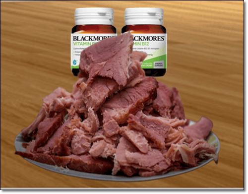 세로토닌영양, 고기