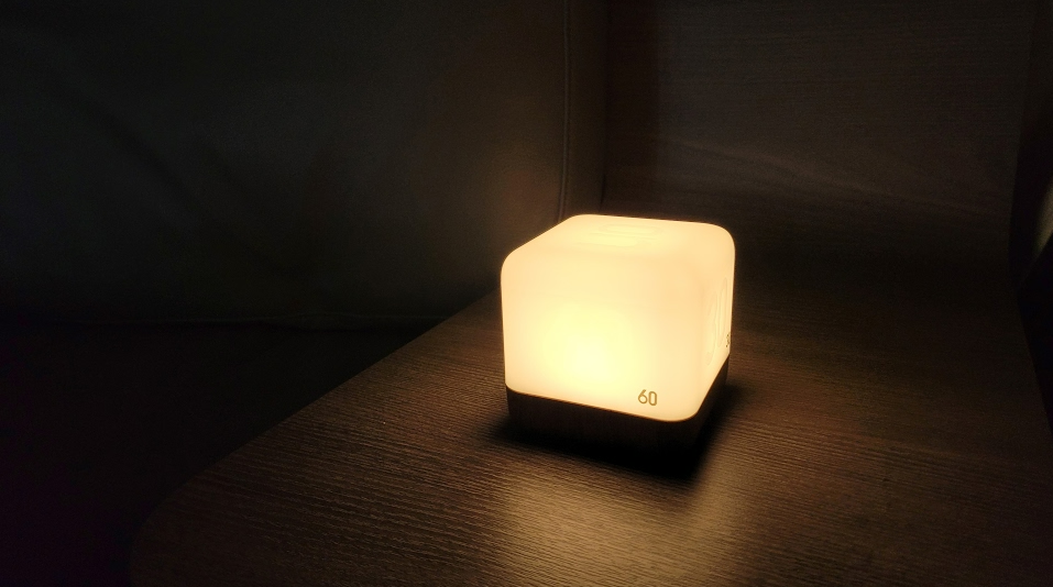 충전해서 사용하는 무아스 LED 타이머 무드등 사진5