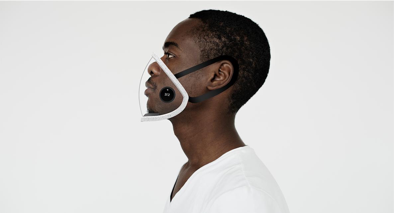 먼지, 바이러스, 체온 감지하는 '소셜 마스크
