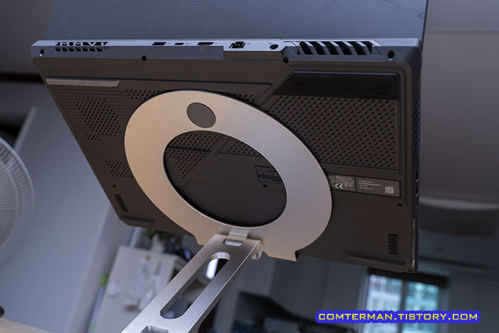 회전식 알루미늄 노트북 거치대 17인치